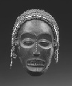Ceremonial mask from ANGOLA representing a female...