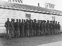 The 4th U.S. Colored Infantry at Fort Lincoln...