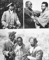 Scenes from the television miniseries, Roots,...
