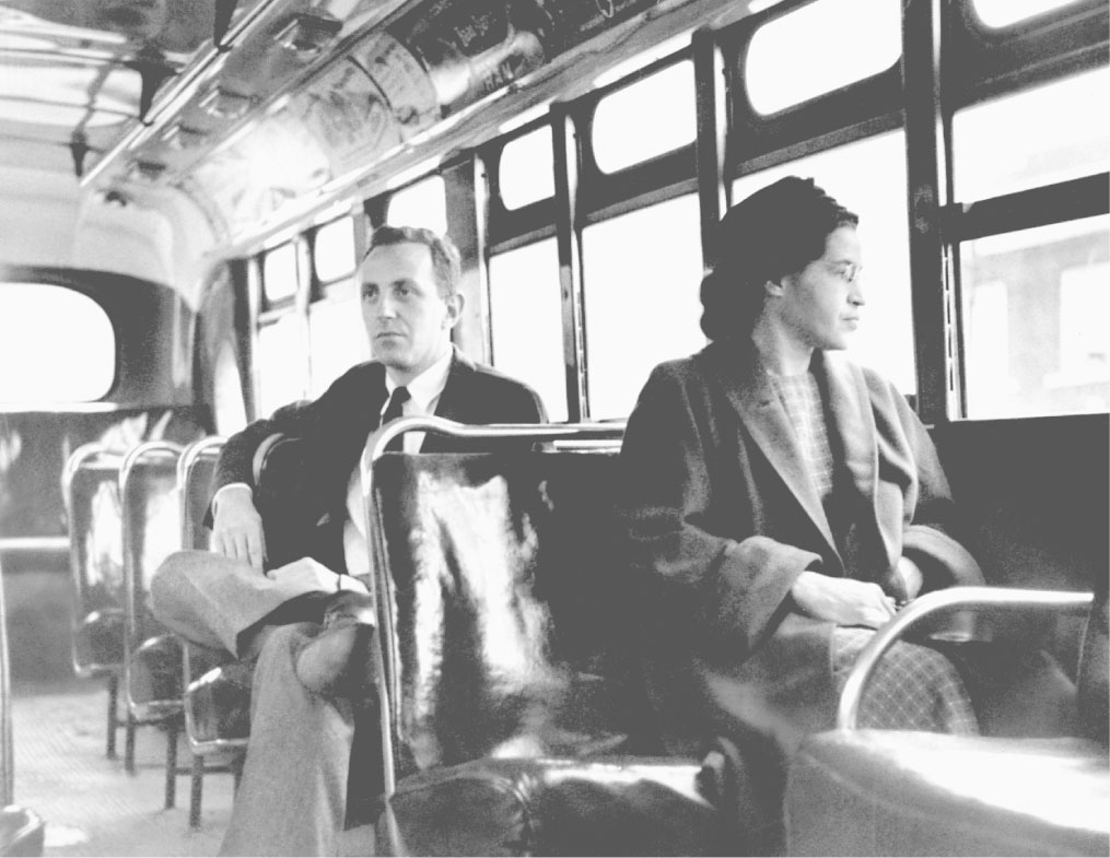 montgomery bus boycott montgomery ala credo reference rosa parks whose refusal to give up her bus seat to a white passenger sparked the montgomery bus boycott and fueled the civil rights movement