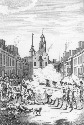 The massacre perpetrated in King Street, Boston...