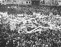 Crowd in Buenos Aires rallies for Juan Peron's...