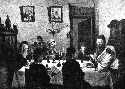 Russian Jews celebrate Pesach, illustration from...