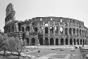 The Roman Coliseum, built from 72 to 80 CE,...