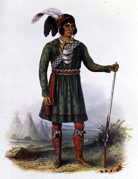 Osceola, or 'Rising Sun', a Seminole Leader, 1838