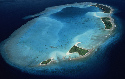 Kayangel Atoll in the Pacific Ocean