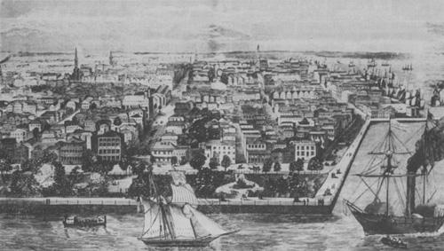 Charleston in 1856