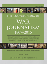 Encyclopedia Of War Journalism Grey House Publishing Literati By Credo