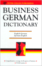 Cover of Business German Dictionary