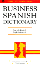 Cover of Business Spanish Dictionary
