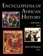 Encyclopedia of African History book cover art