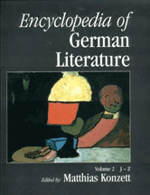 Cover of the Encyclopedia of German Literature
