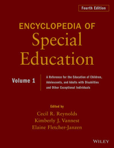 Encyclopedia of Special Education: A Reference for the