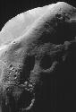 Phobos Mars' larger moon, Phobos, imaged by the...