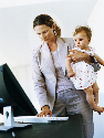 Working mothers have been constrained by...