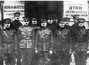 Members of the U.S. expeditionary force to Russia...