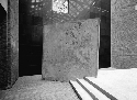 Richard Serra, Gravity, 1991. Steel, 12 × 12 × 10...