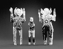 Charlie Willeto. Untitled (Navajo Man and Two...