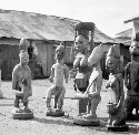Yoruba Shango Shrine, Nigeria. Werner Forman/Art...