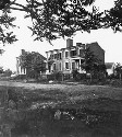 Houses near Fredericksburg damaged by the...