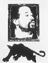 Poster of Black Panther Eldridge Cleaver. Active...