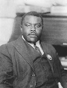 Marcus Garvey, founder of the Universal Negro...