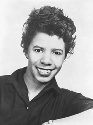 Lorraine Hansberry, a playwright and civil rights...