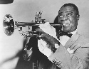 Musician Louis Armstrong, one of the twentieth...