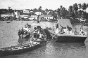 U.S. Marine Corps patrol boats on the Ozoma...