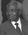 Poet and statesman Leopold Senghor was a leader...