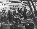 Workers at the Guinness brewery at Saint James's...