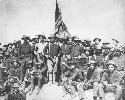 Colonel Theodore Roosevelt and his Rough Riders...