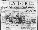 Newspaper coverage of the 1922 Railroad Strike. ©...
