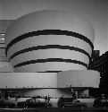 Frank Lloyd Wright's design of the Guggenheim...