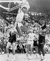 Kareem Abdul-Jabbar reaches over backwards to...