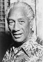 Duke Kahanamoku, head-and-shoulders portrait,...