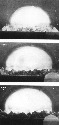 Photo sequence of the Trinity Nuclear Test, 1945....