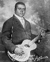 Blind Lemon Jefferson. Courtesy of Getty Images.