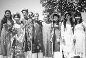 A group of Vietnamese American students dressed...