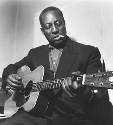 Big Bill Broonzy in London, 1957.(Terry...