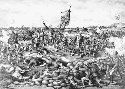 British and Boer forces clash at the Battle of...