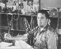 US folk song collector Alan Lomax (pictured) was...