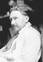 The London-based US poet Ezra Pound, a founder of...