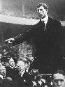 New York-born Eamon de Valera, future president...