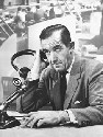 US broadcaster Edward R. Murrow, whose reports...
