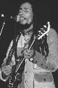 Jamaican-born Bob Marley, the key figure in the...