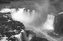 Iguaçu Falls lie on the borders of Argentina,...