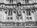 Canterbury cathedral façade. Courtesy of Lisa...