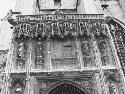 A detail of the cathedral portal. Courtesy of...