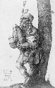 An early sixteenth-century illustration of a man...
